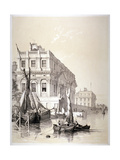 The Royal Naval Hospital, Greenwich, London, 1838 Giclee Print by Edmund Patten