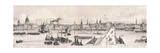 London from the River Thames, 1844 Giclée-Druck von Frank Vizetelly