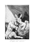 Of What Ill He Die, 1799 Giclee Print by Francisco de Goya