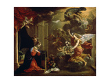 The Annunciation, 17th Century Giclee Print by Eustache Le Sueur