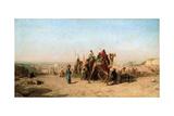 Caravan, 1860 Giclee Print by Felix Francois Georges Philibert Ziem