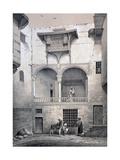 House of Beyt El-Tcheleby, 19th Century Reproduction procédé giclée par Emile Prisse d'Avennes