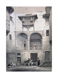 House of Beyt El-Tcheleby, 19th Century Giclee Print by Emile Prisse d'Avennes