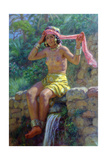 The Source, 1926 Giclee Print by Etienne Dinet
