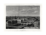 Paris, France, 1883 Giclee Print by Edward Paxman Brandard