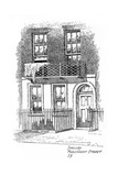 Percy Bysshe Shelley's House, Marchmont Street, Bloomsbury, London, 1912 Giclee Print by Frederick Adcock