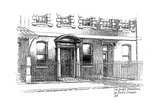 Sir James Thornhill's House, 75 Dean Street, London, 1912 Giclee Print by Frederick Adcock