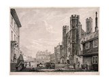 St James's Gate Leading to St James's Palace, London, 1766 Giclee Print by Edward Rooker