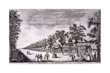 Vauxhall Gardens, Lambeth, London, C1752 Giclee Print by Edward Rooker