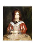 Portrait of Gabriella Lenbach, 1898 Giclee Print by Franz Seraph von Lenbach
