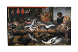 A Fishmonger's Shop, 17th Century Giclee Print by Frans Snyders