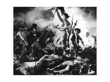 La Liberte Guidant Le Peuple, 28th July 1830 Giclee Print by Eugène Delacroix
