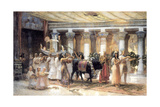 The Procession of the Sacred Bull Apis, Late 19th or Early 20th Century Giclee Print by Frederick Arthur Bridgman