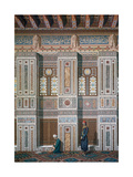 Main Room, Mosque of Ahmed El-Bordeyny, 19th Century Impression giclée par Emile Prisse d'Avennes