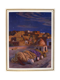 La Prosternation (La Prier)' ('Prayer of Prostration), 1918 Giclee Print by Etienne Dinet