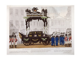 View of the Funeral Procession of Lord Nelson, London, 1806 Giclee Print by Edward Orme