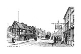 The Birthplace of Shakespeare, Stratford-Upon-Avon, Warwickshire, 1885 Giclee Print by Edward Hull