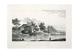 View of Beresford White House, Hackney Marsh, Hackney, London, 1830 Giclee Print by Edward Duncan