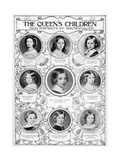 Queen Victoria's Children, Mid-19th Century Giclee Print by Franz Xaver Winterhalter
