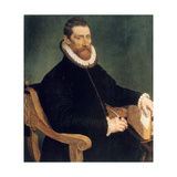 Portrait of a Man, 16th Century Giclee Print by Frans Pourbus