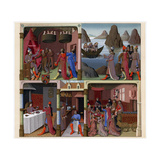 Sergius Orata and Other Romans, 1473-1480 Giclee Print by Francois Fouquet