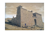 Temple, Nubia, Egypt, 1824 Giclee Print by Frederick Catherwood