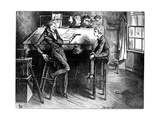 David Copperfield and Uriah Heep, 1912 Giclee Print by Frederick Barnard