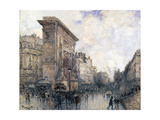 Arc De Triomphe De La Porte St-Denis, Paris, C1875-1926 Giclee Print by Frank Myers Boggs