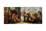 The Magnanimity of Scipio Africanus, C1727-1769 Giclee Print by Francesco Fontebasso