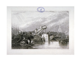 Construction of the Thames Tunnel, London, 1827 Giclee Print by George Cooke
