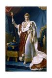 Napoleon I Emperor of France, 1804 Giclee Print by Francois Pascal Simon Gerard