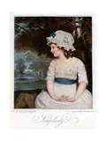Simplicity, 1905 Giclee Print by Francesco Bartolozzi