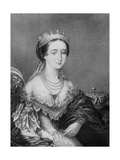 Eugenie De Montijo, Empress Consort of France C1853-1857 Giclee Print by George Baxter