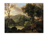 The Countryside around Florence, Italy, Late 18th-Early 19th Century Giclee Print by Francois-xavier Fabre