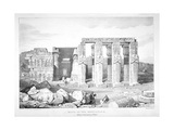 Ruins of the Memnonium at the Cemetery of Thebes, C1800-1870 Giclee Print by George Barnard