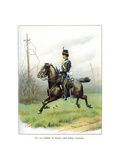 The 10th (Prince of Wales' Own Roya) Hussars, C1890 Giclee Print by Geoffrey Douglas Giles