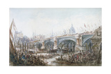 Opening of Blackfriars Bridge, London, 1869 Giclee Print by George Chambers
