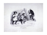 Zoological Gardens, Regent's Park, Marylebone. London, 1835 Giclee Print by George Scharf