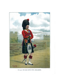 The 42nd, the Black Watch (Royal Highlander), C1890 Giclee Print by Geoffrey Douglas Giles