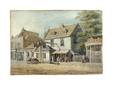 Castle Tavern, Old Kent Road, London, C1830 Giclee Print by George Scharf