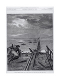 Tay Bridge Disaster, Scotland, 28 December 1879 Giclee Print by Frank Dadd