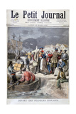 Departure of the Icelandic Fishermen, 1894 Giclee Print by Frederic Lix