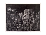 Covent Garden Market-Early Morning, 1872 Giclee Print by Gauchard Brunier