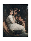 Henry and Emma, Late 18th-Early 19th Century Giclee Print by Francesco Bartolozzi