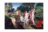 The Bath of Diane, C1510 Giclee Print by Francois Clouet