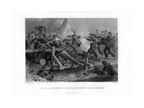 Struggle on a Bridge During the Retreat from Manassas, Virginia, (1862-186) Giclee Print by Felix Octavius Carr Darley
