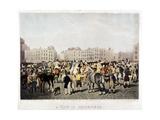 Smithfield Market, London, C1840 Giclee Print by Frederick Christian Lewis
