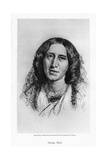 George Eliot, English Novelist, 19th Century Giclee Print by Frederic William Burton