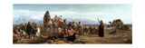 Early Morning in the Wilderness of Shur, 1860 Giclee Print by Frederick Goodall