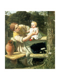 On the Way to the Spring, C1862 Giclee Print by Frederick Richard Pickersgill